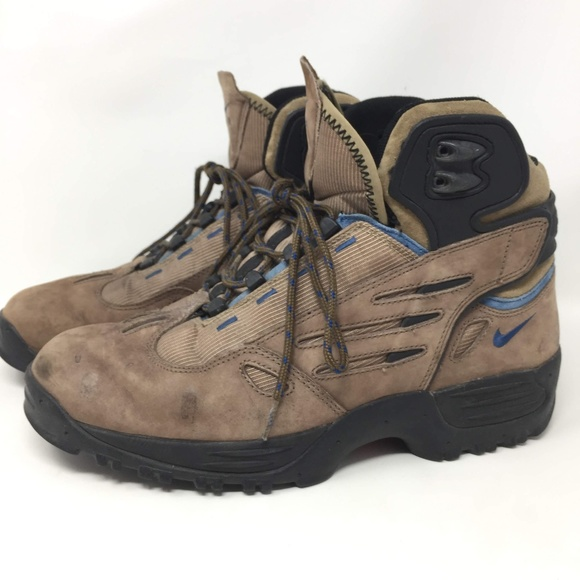 Nike ACG Brown Hiking Boots 12 Mid Men's Vintage